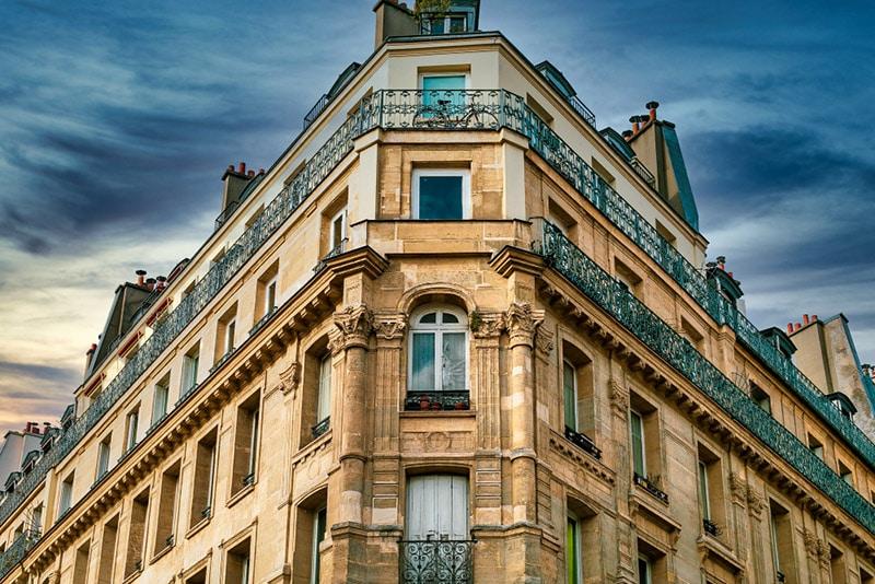 Bâtiment parisien Paris 16e